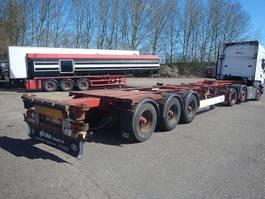 wissellaadbaksysteem oplegger Container chassis med udtræk 2006