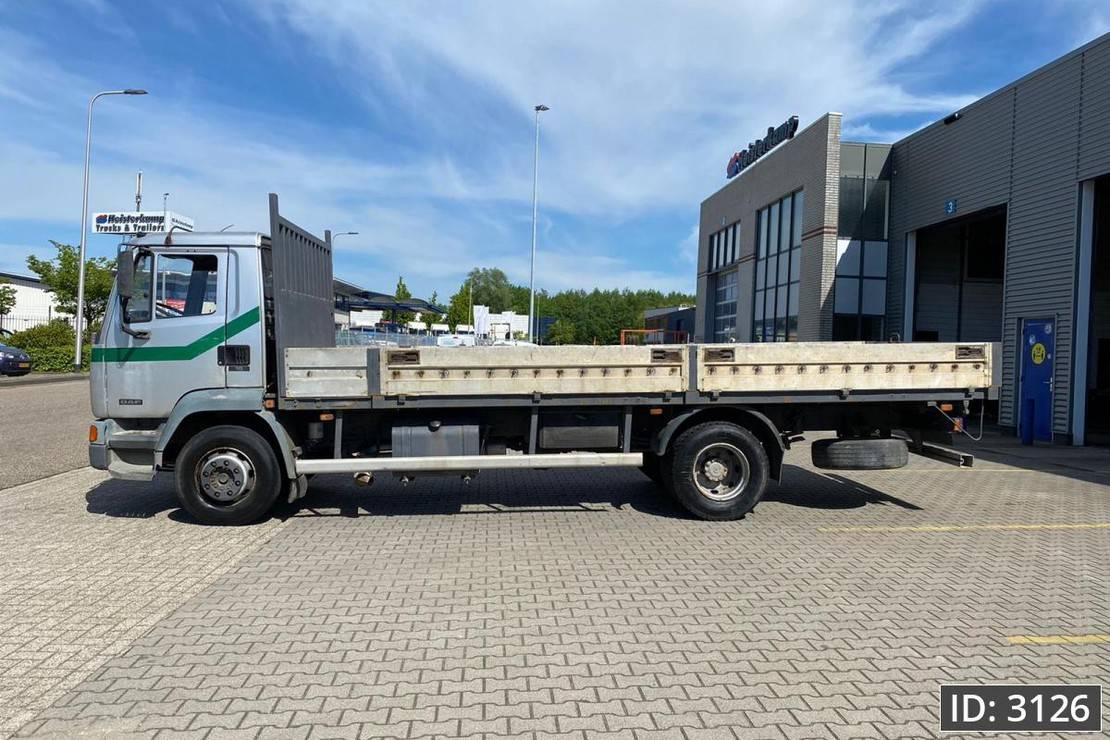 platform vrachtwagen DAF LF 210 Day Cab, Euro 1, // Full Steel // Manual Gearbox // Retarder, Intarder 1996