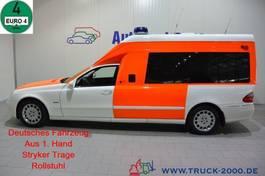 ambulance bedrijfswagen Mercedes-Benz 280 Krankentransport Trage Rollstuhl Rampe 2008