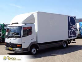 bakwagen vrachtwagen Mercedes-Benz Atego 815 + Euro 2 + Dhollandia Lift + BLAD-BLAD 1999
