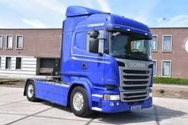 standaard trekker Scania R410 HL 4x2 - RETARDER - 639 TKM - LEATHER SEATS - ALCOA'S - XENON - 2016