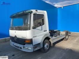 chassis cabine vrachtwagen Mercedes-Benz Atego 815 Manual, Steel suspension 2001