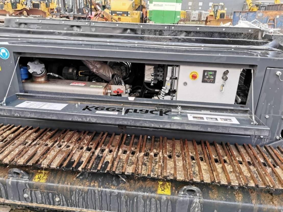 zeefinstallatie Keestrack S3 Stacker Radio remote 3 Pieces! 2020