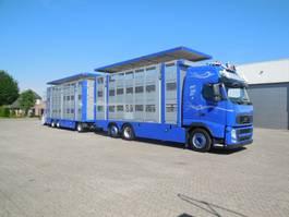 veewagen vrachtwagen Volvo FH 500 FH13.500 6x2 VEB+ /aanhangwagen MENKE M-3 3asen/LIFTAS 2011