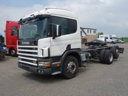 chassis cabine vrachtwagen Scania P94 94-310 6X2 MANUAL FUEL POMP 1998