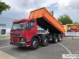 kipper vrachtwagen > 7.5 t Volvo FM12 Full steel - Manual - Hub reduction 2001
