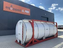 tankcontainer Van Hool 20FT, swapbody TC 30.856L, L4BN, IMO-4, valid inspection/CSC: 08/2023 2000