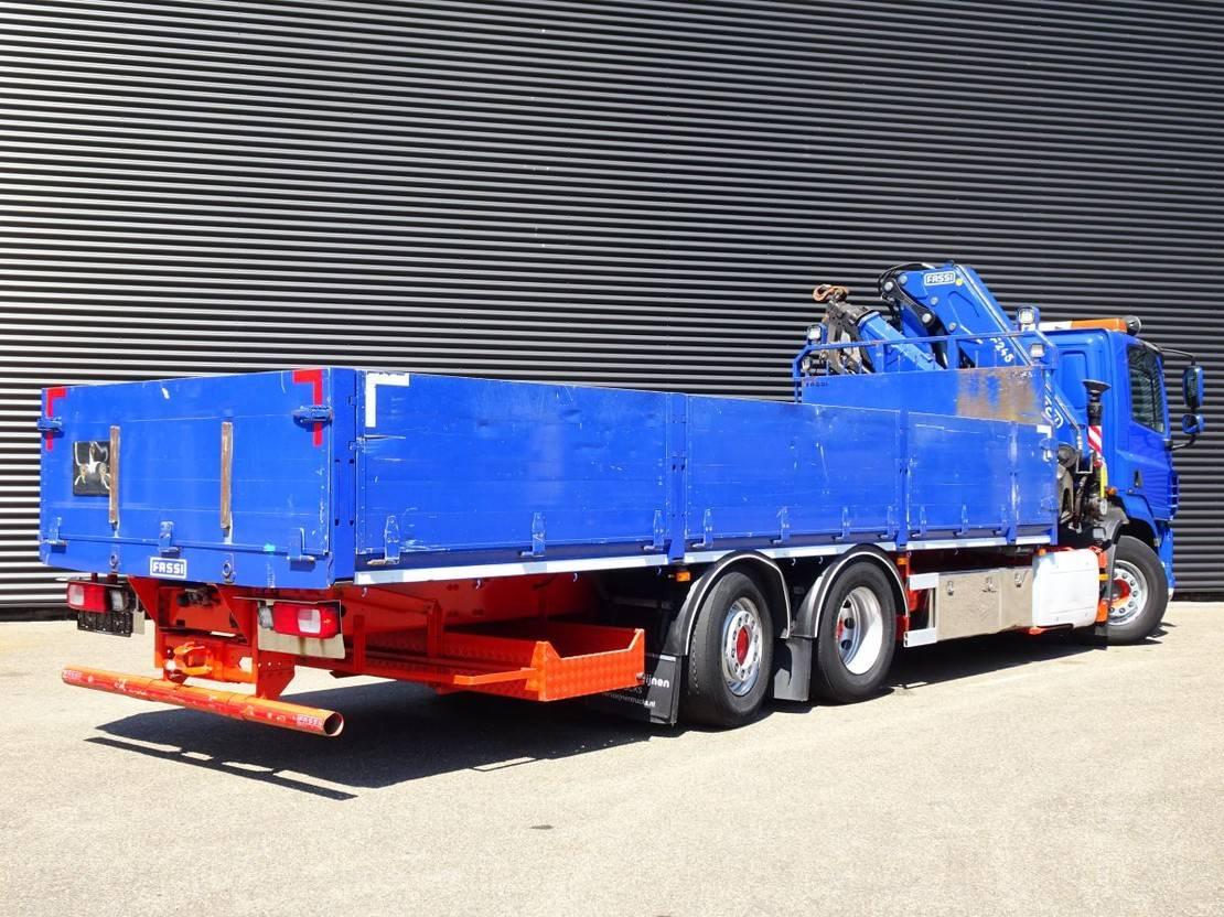 platform vrachtwagen DAF CF 460 EURO 6 / FASSI 24 t/m / 16.85 mtr! / LIFT STEERING AXLE 2014