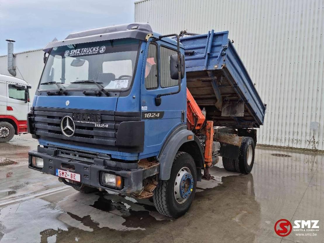 platform vrachtwagen Mercedes-Benz SK 1824 4x4 atlas 1995