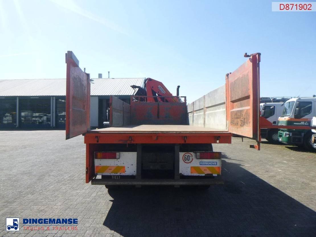 platform vrachtwagen DAF CF 75 6x4 Euro 5 tipper + Palfinger PK23500 2010
