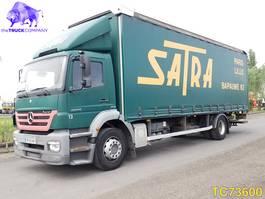 bakwagen vrachtwagen Mercedes-Benz Axor 1829 Euro 4 2007
