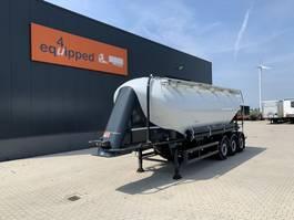 tankoplegger SPITZER SF2739PI Powder Tank 39.000L, Alu, NL-trailer, top-condtion! 2016