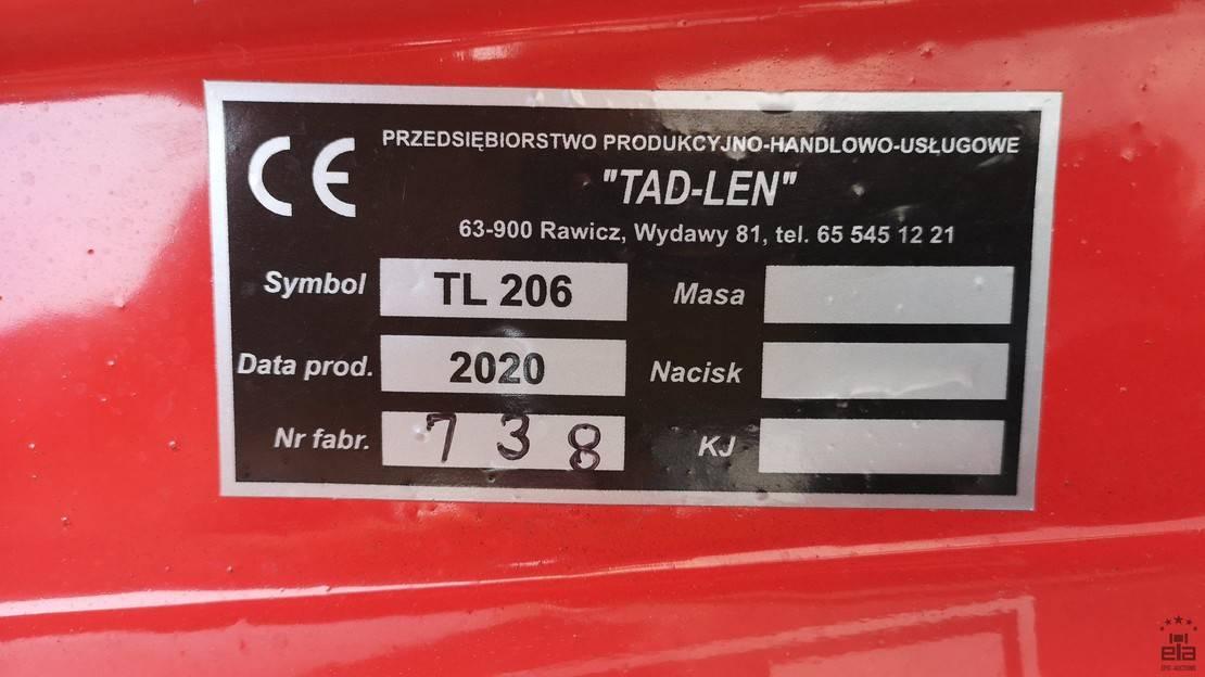 landbouwspuitwagens Diversen Tad-len TL206 2020