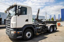 containersysteem vrachtwagen Scania R420 - 10 pneus/tires-DALBY 2008