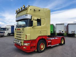 standaard trekker Scania R164 164-480 topline special interior !!!! 2001
