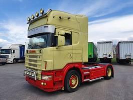 standaard trekker Scania R164-480 V8 164-480 topline special interior !!!! 2001