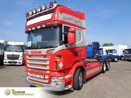 chassis cabine vrachtwagen Scania R500 + Manual + Retarder 2006