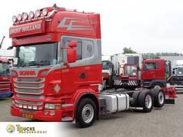 chassis cabine vrachtwagen Scania R500 + Retarder + Euro 5 + 6X2 2011