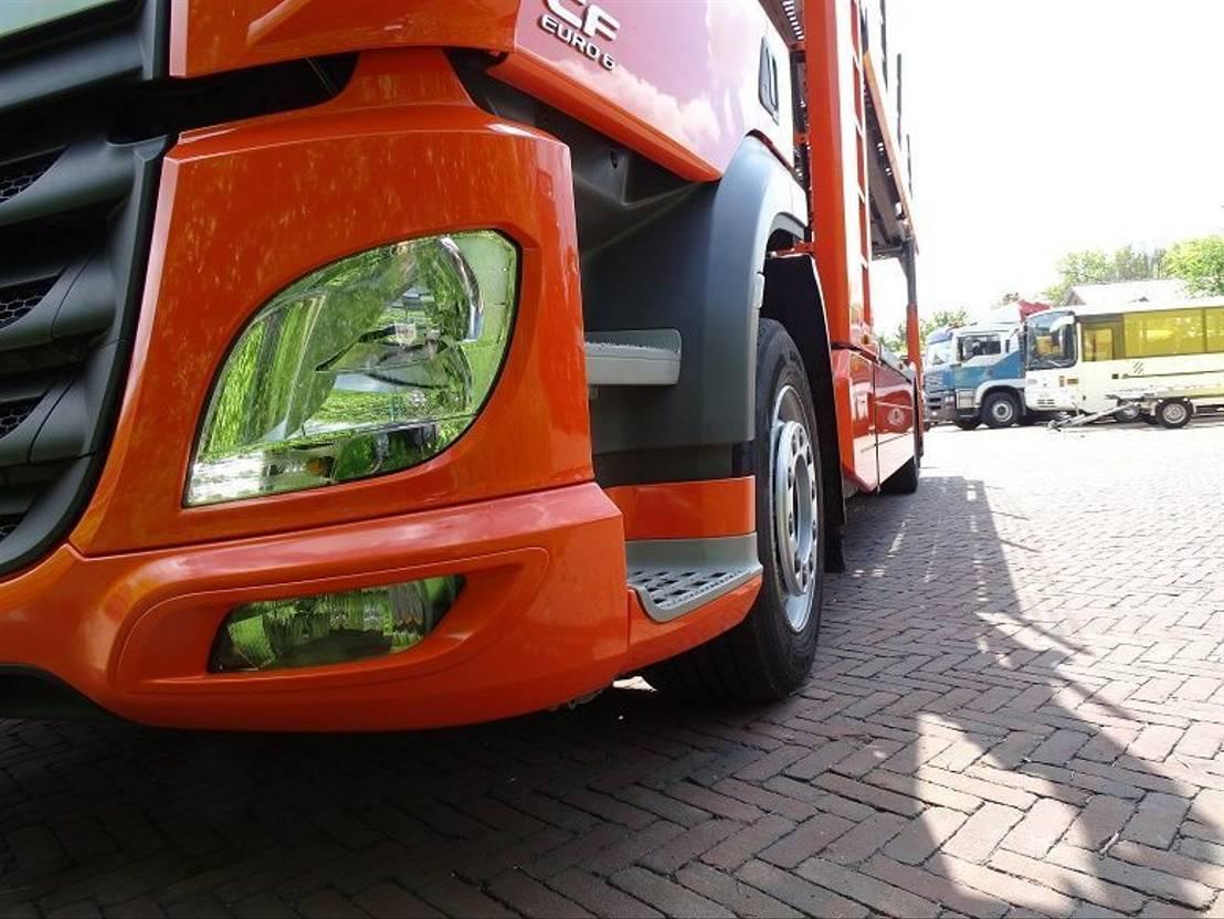 autotransporter vrachtwagen DAF CF 400 KÄSSBOHRER CITYTRANS 5 CARS NAVI *Gereserveerd* 2016