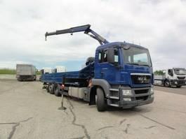 kraanwagen MAN TGS 26 6x2-2 BL Intarder Lenkachse PK12001 2012