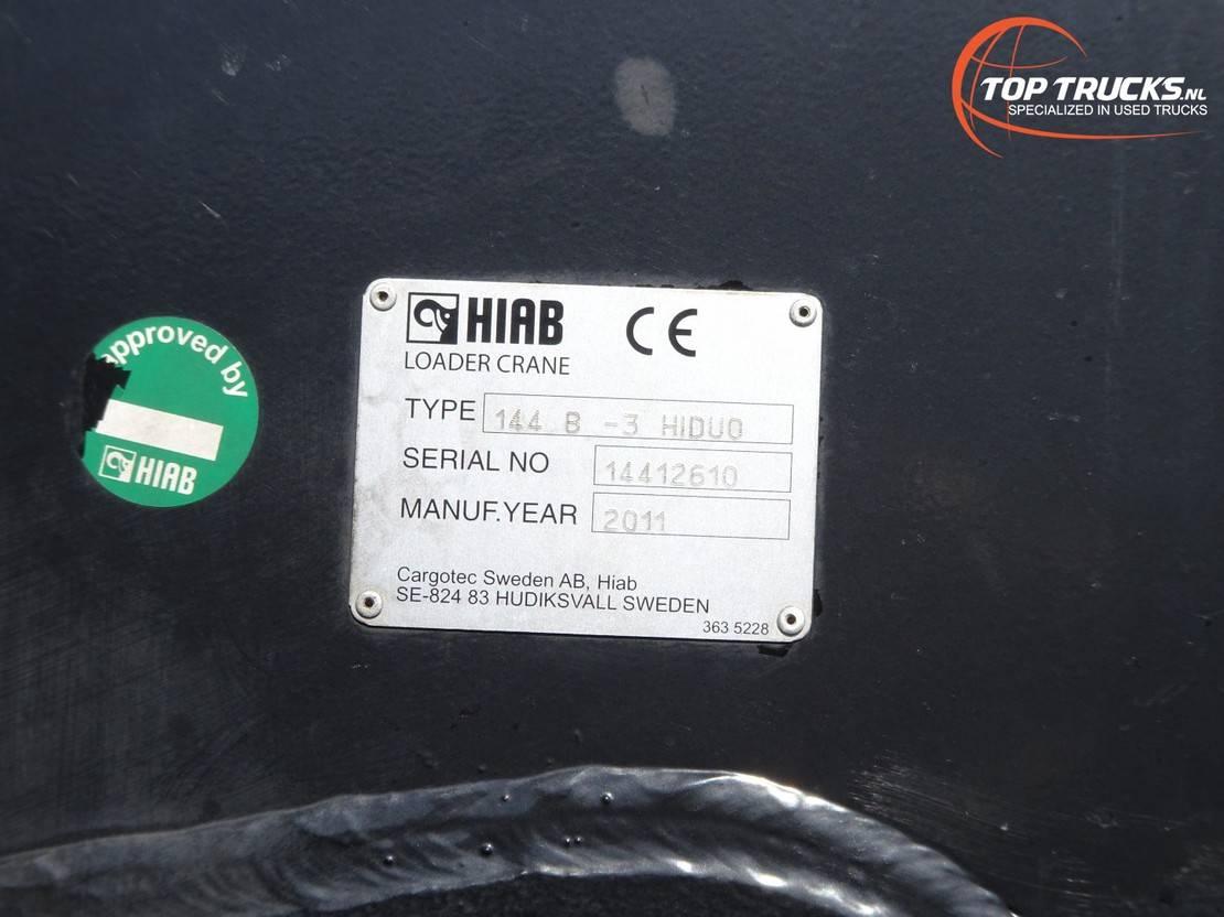 platform vrachtwagen Mercedes-Benz Actros 2636 6x4 - HIAB 14TM Kraan, Crane, Kran, Grue - BB - Remote control 2011