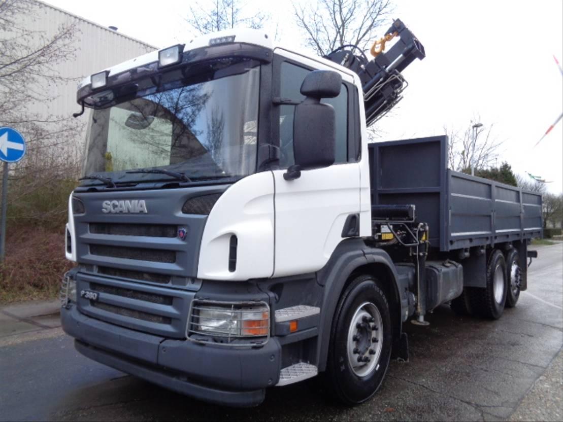 platform vrachtwagen Scania P380 6X2 2021