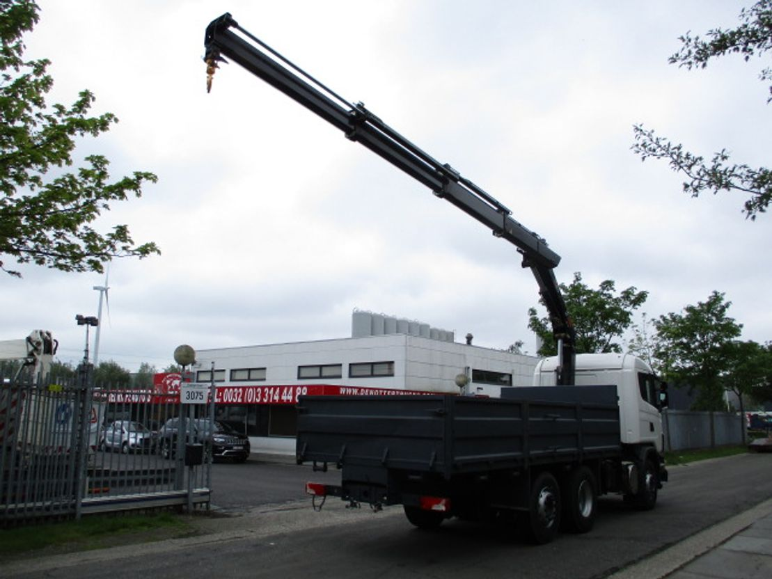 platform vrachtwagen Scania G420 6X2 2021