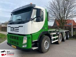 containersysteem vrachtwagen Terberg FM 1850 8x4 VDL 30 tons haakarm euro 5 2012