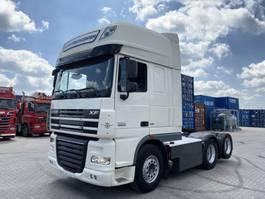 standaard trekker DAF XF 105 XF105.510, 6x2, 10 tires, manual, retarder, 375 TKM!! 2012