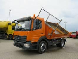 kipper vrachtwagen > 7.5 t Mercedes-Benz Atego 1324 K 2-Achs Kipper Meiller 2017