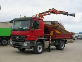 kipper vrachtwagen > 7.5 t Mercedes-Benz K 2-Achs Kipper Kran 2008