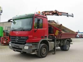 kipper vrachtwagen > 7.5 t Mercedes-Benz Actros 1836 K 2-Achs Kipper Kran 2008