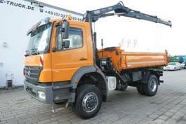 kipper vrachtwagen > 7.5 t Mercedes-Benz Axor 1833 AK/4x4 +Hiab XS 111 BS-2 Kran mit Funk 2006