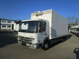 gesloten bestelwagen Mercedes-Benz ATEGO III 816 Koffer 6,10 m LBW 1 TO.*KÜHLBOX 2013