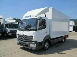 gesloten bestelwagen Mercedes-Benz ATEGO IV 818 L Koffer 5,20 m LBW 1.500 kg 2017