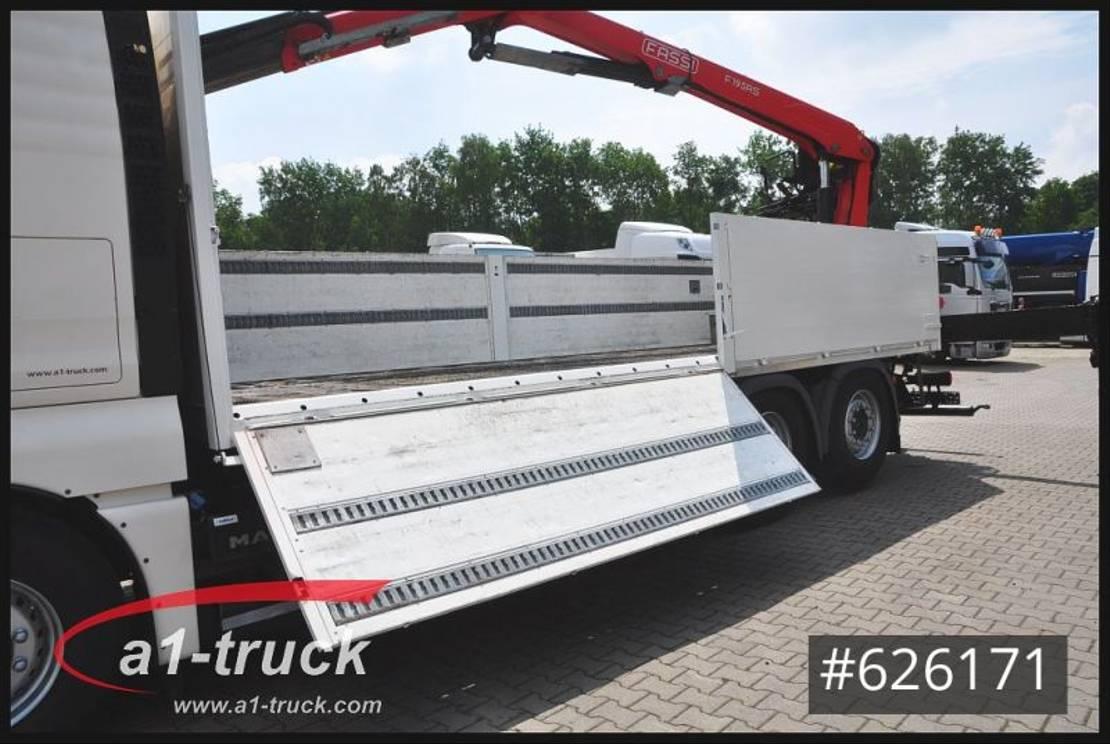 platform vrachtwagen MAN TGX 26 11/2021 , Fassi 195 Lift- u. Lenkachse 2014