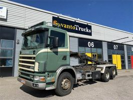 containersysteem vrachtwagen Scania R124 6X2 1999