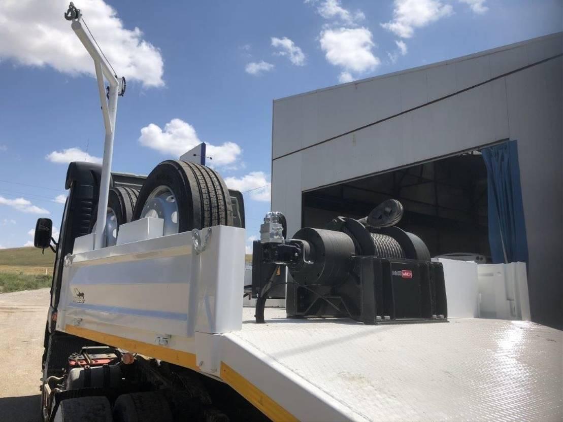 semi dieplader oplegger Coder SPE 60.3 - Heavy Duty Special Off-Road - NEW 2021