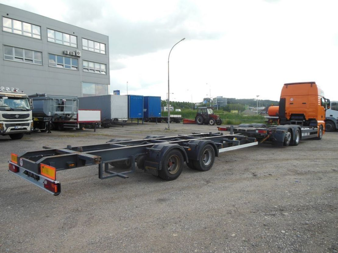 platform vrachtwagen MAN TGX 26 .440 JUMBO BDF+ANHÄNGER+4 x BDF AUFBAU 2011