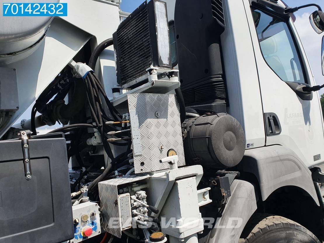 betonpomp vrachtwagen Renault Kerax 420 8X4 Manual Big-Axle Euro 3 Pumpe+Mixer 2004