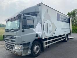 bakwagen vrachtwagen DAF CF 65 - CLOSED BOX/CURTAIN - 2005 - MANUAL TRANSMISSION - SPRING SUSPENSION 2005