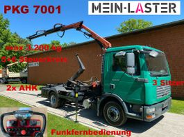 overige bedrijfswagens MAN 8.210 Palift + PK 7001 Funk FB -3 Sitzer 2008