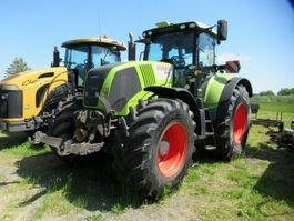 standaard tractor landbouw Claas 850 AXION, Frontkraftheber, CEDIS, Klima 2009