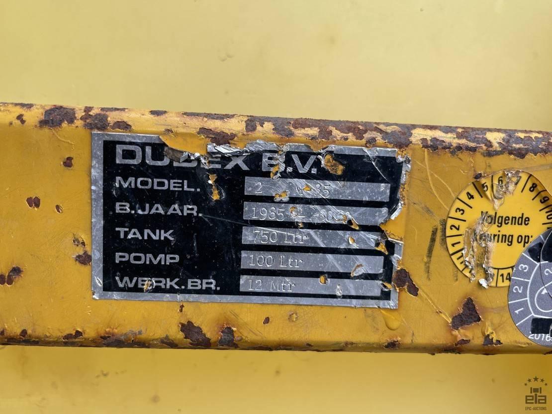landbouwspuitwagens Diversen Dubex 2M35 1985
