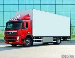 bakwagen vrachtwagen Volvo FM 330 EEV  15 KARREN BAK  KACHEL  HARDHOUTEN VLOER GEISOLEERD 2011