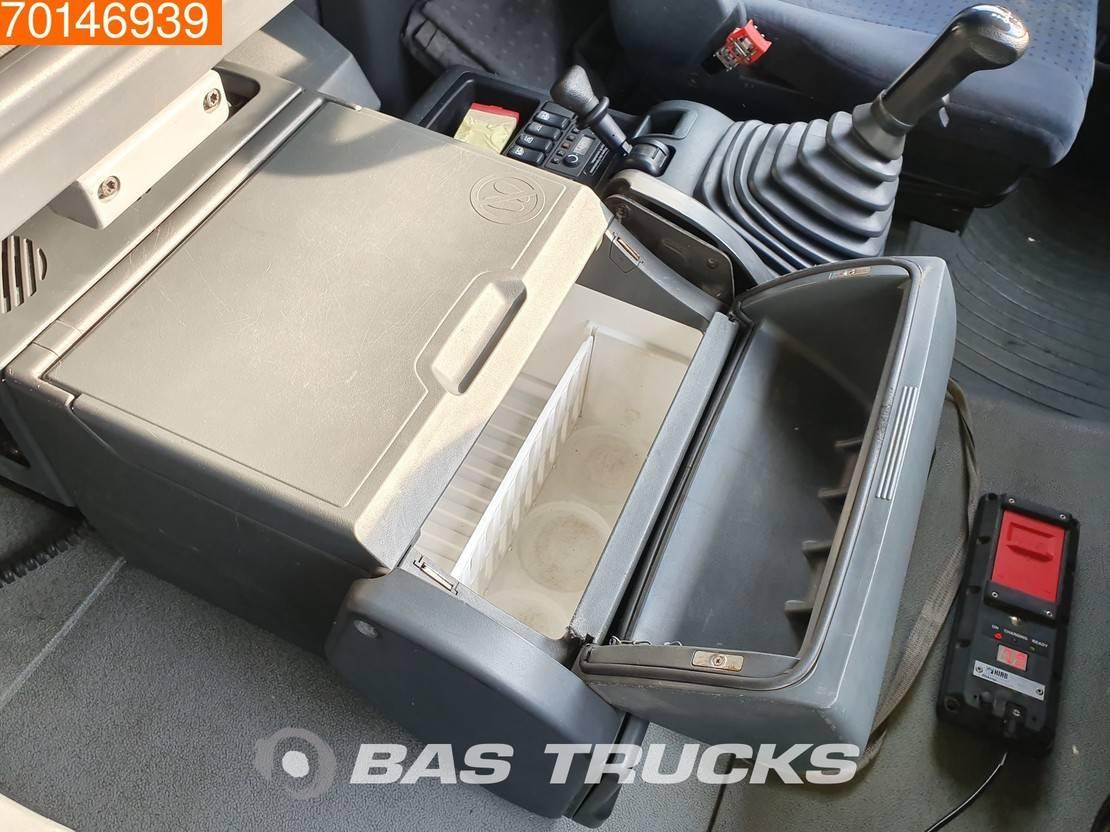 platform vrachtwagen MAN TGA 26 6X2 Manual XLX Standklima Euro 3 Hiab 175 2006