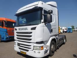 standaard trekker Scania G410 ,geen R,Euro 6,NL trekker 2015