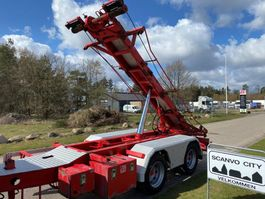 container chassis oplegger 2 akslet 20 ton 3 vejs wirehejs 2009