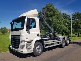 containersysteem vrachtwagen DAF CF 480 FAS 6x2 Haakarm voertuig