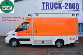 ambulance bedrijfswagen Mercedes-Benz 516 CDI GSF RTW Krankenwagen Ambulance 2015